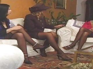 Stockings claudia jamsson lucia sophie evans...
