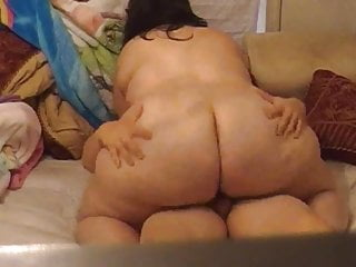 Plumpluv 039 fat huge butt riding dick...