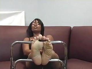ebony soles need cum