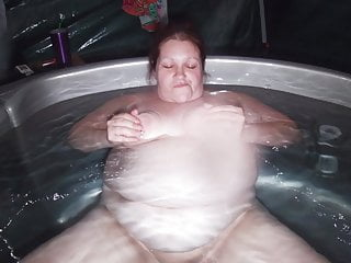 having some a laugh within the sexy bathtub. NO SOUND