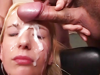 Her first fuck orgy...