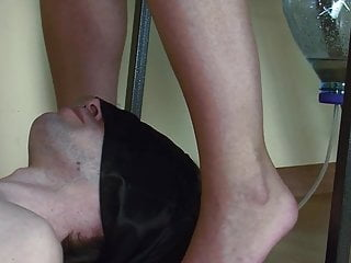 Mistress humiliation of little dude