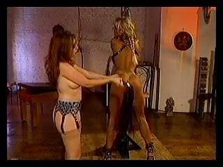 Lesbian bondage and whipping