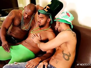 Next door ebony saint patrick 039 threesome...