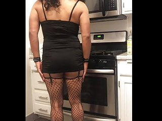Thong Sexy in Kitchen in Upskirt Ass Teasing Rachelle and