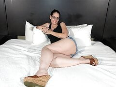 50y GILF - My Husband Doesn't Like Men to Use Condoms