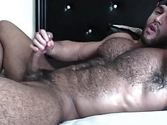 Gorgeous Wooly Lump Of Meat Fapping Off