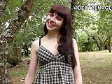 brunette teen dildo casting.mp4