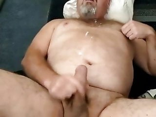 face Daddy cumming bear his