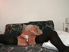 Princess Lacey vibrator masturbation addiction
