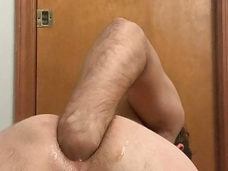 Fisting fun, stretching my hole out