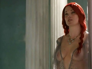 Lucy lawless from spartacus...