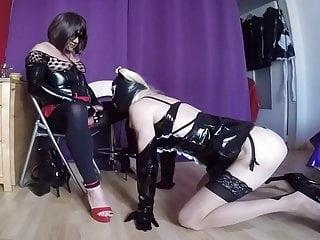 Analia suck her Mistress Sissy