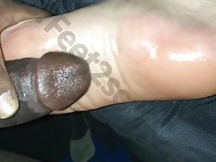 Fucking oiled soles
