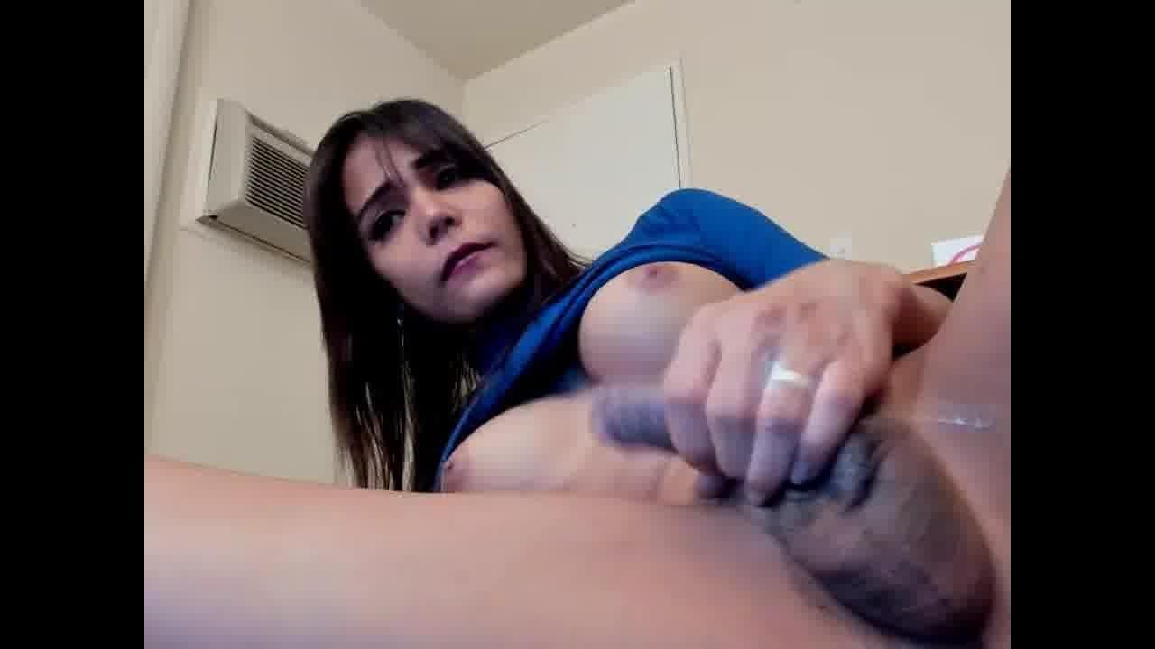 Cute Girl Masturbating Dildo