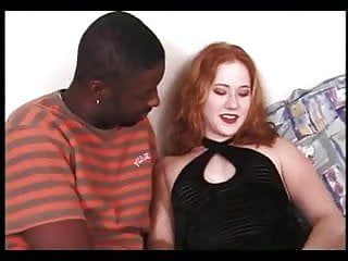 Pointy Nipped Redhead Loves BBC