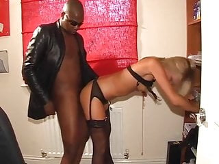 blonde british fucks black boss