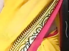 Indian aunty in school undressing