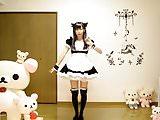 Maid cosplay 001