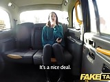 Fake Taxi Slim minx gets naughty and naked