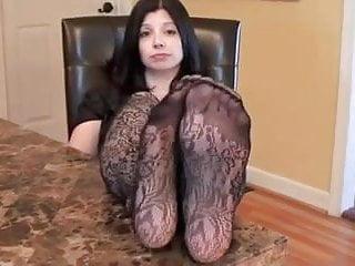 feet and soles nylon
