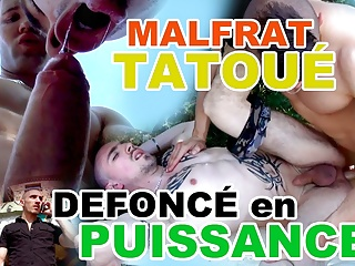 Tattooed Malfrat gets fucked by his bodyguard