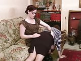 Friend Spanked Her