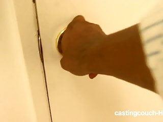 Castingcouch HD Puttana nera casting