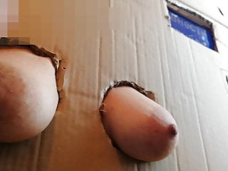 The boob box from the store...