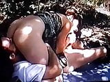 girl gets fucked in the woods