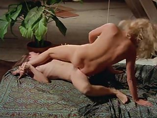 Hairy bush lesbians finger, lick, and trib with abandon