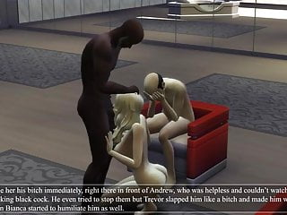 Cuckold love story animated part 3...