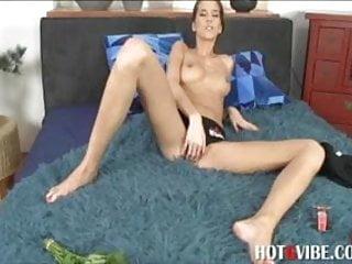 Silvie Deluxue Masturbates With Vibrator