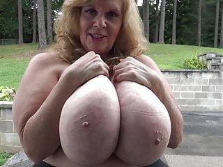 Large Grandmother Tits