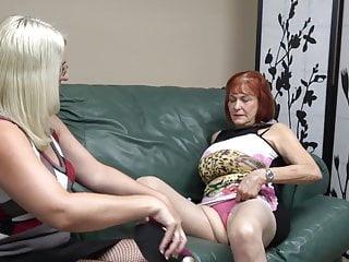 granny Busty fucks busty mature