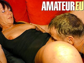 Xxx omas hot dirty german passionate couple...