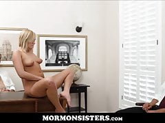 Mormon Girl Likes When Dad Watches Her With Another Guy