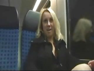 German Teen Couple Have A Fuck On The Train !