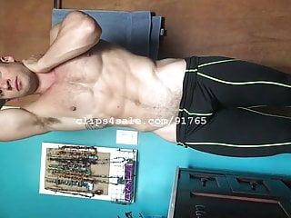 Muscle Fetish – Lance Flexing Part6 Video2