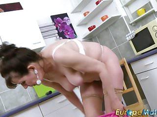Europemature hairy pussy granny seduction...