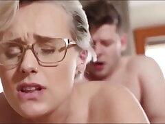 Kinky and Sexy MILF Angel Wicky fucked by perv stepson