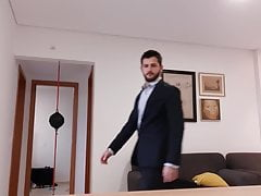 suits and leather - your handsome neighbor has a secret kinkPorn Videos