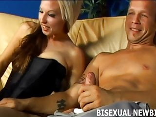 Im sure you will like your first bisexual threeway