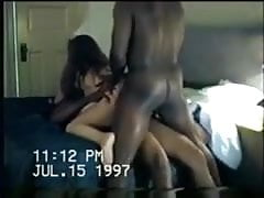 Husband brings home bbc for wife