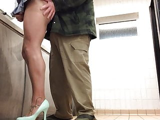 Lorry driver catches schoolgirl in toilets PART 2.