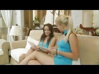 Horny dominates her girfriend...