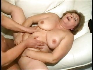 Hungarian fucked on the sofa anal...