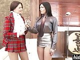 Anna Polina and Cecilia De Lys get it on in the office