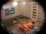 fack in public bath