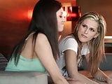 Awesome Teen Lesbians Shyla Jennings and Sasha Heart
